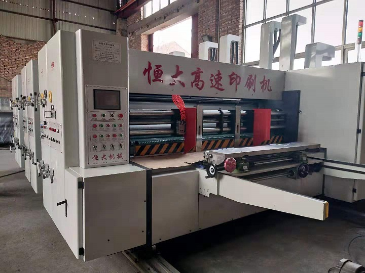 水墨高速印刷机